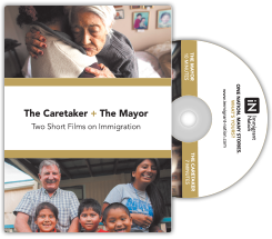 The Caretaker + The Mayor DVD Cover and DVD